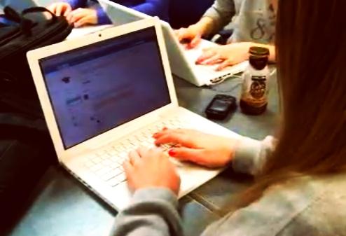 Ejemplos de ordenadores 1 a 1 escuela Van Meter