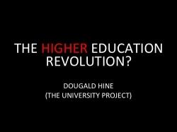 La REVOLUCIÓN en la universidad