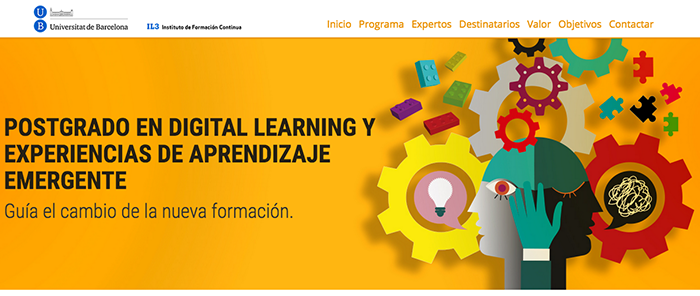 Postgrado en Digital Learning y Experiencias de Aprendizaje Emergente