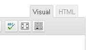 editor de texto wordpress