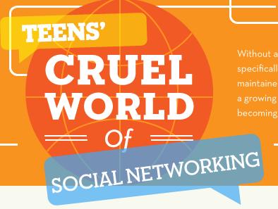 El mundo de los adolescentes y las redes sociales