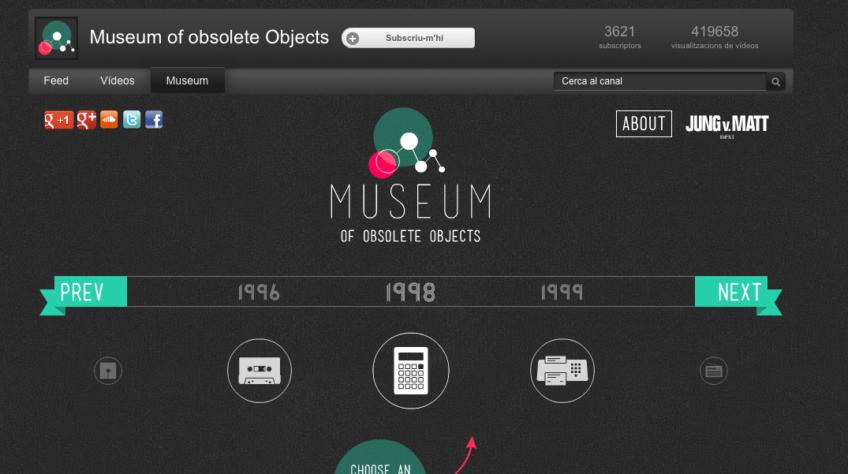 El museo de los objetos obsoletos