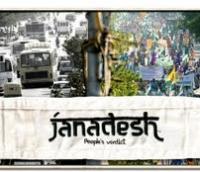 """El pueblo tiene mucho que decir, """"Janadesh. People's verdict"""""""
