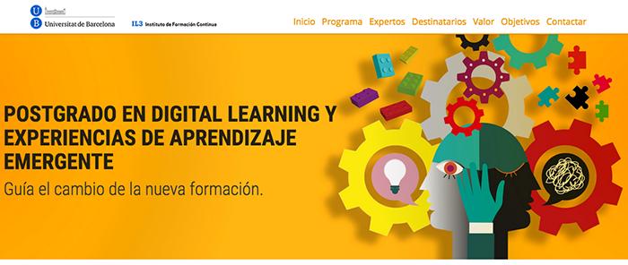 Postgrado en Digital Learning y Experiencias de Aprendizaje Emergente, nos acompañas?