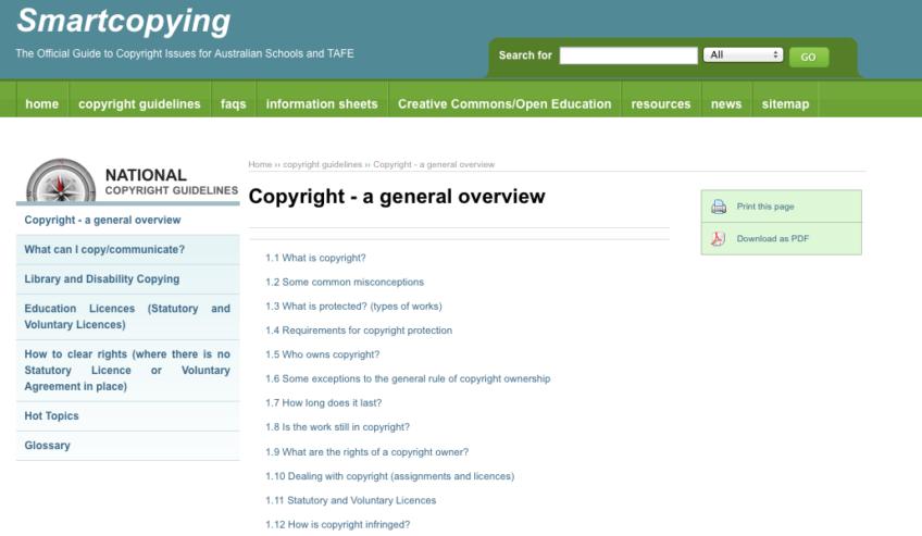 Estudiantes y copyright